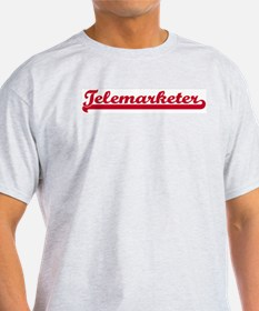 Telemarketer (sporty red) T-Shirt