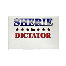 SHERIE for dictator Rectangle Magnet