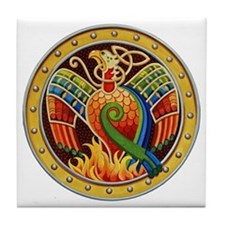 Celtic Phoenix Tile Coaster