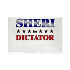 SHERI for dictator Rectangle Magnet