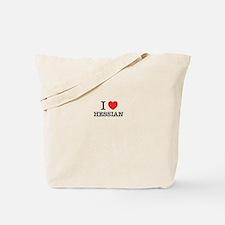 I Love HESSIAN Tote Bag