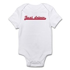 Taxi driver (sporty red) Infant Bodysuit