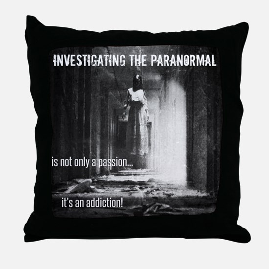 Paranormal Passion Throw Pillow