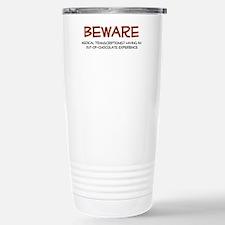 Funny Chocolate addict Travel Mug