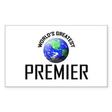 World's Greatest PREMIER Rectangle Decal