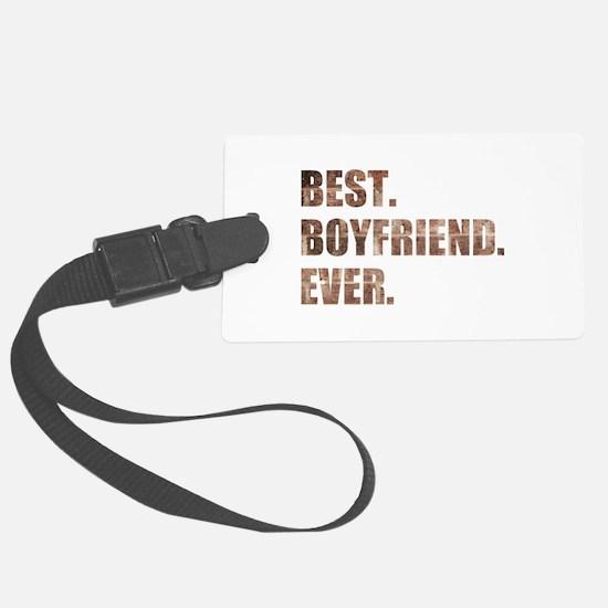 Grunge Brick Best Boyfriend Ever Luggage Tag