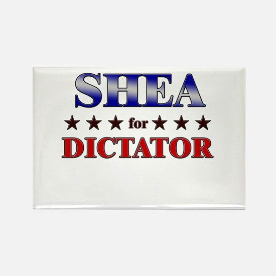 SHEA for dictator Rectangle Magnet