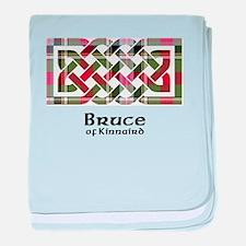 Knot - Bruce of Kinnaird baby blanket