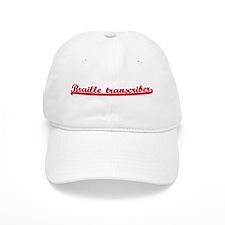 Braille transcriber (sporty r Baseball Cap