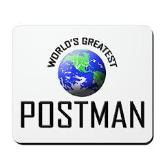 World's Greatest POSTMAN Mousepad