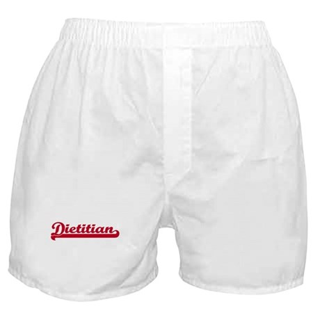 Dietitian (sporty red) Boxer Shorts