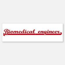 Biomedical engineer (sporty r Bumper Bumper Bumper Sticker