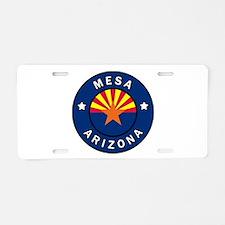 Mesa Arizona Aluminum License Plate