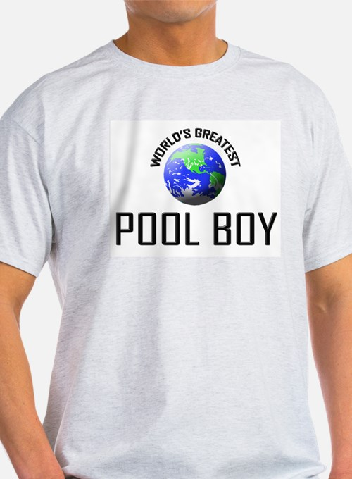 World's Greatest POOL BOY T-Shirt