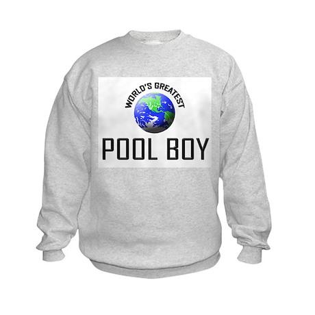 World's Greatest POOL BOY Kids Sweatshirt
