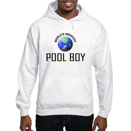 World's Greatest POOL BOY Hooded Sweatshirt