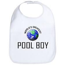 World's Greatest POOL BOY Bib