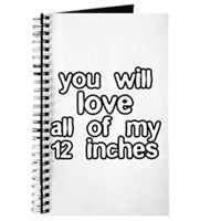 12 Inches Of Fun Journal