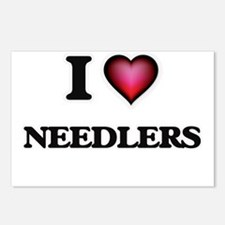 I love Needlers Postcards (Package of 8)