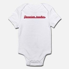 Darwism teacher (sporty red) Infant Bodysuit