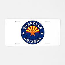 Chandler Arizona Aluminum License Plate