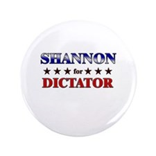"""SHANNON for dictator 3.5"""" Button"""