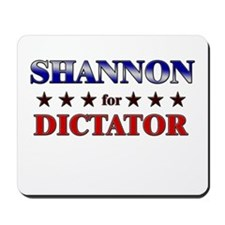 SHANNON for dictator Mousepad