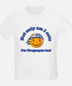 Not only am I cute I'm Uruguayan too T-Shirt