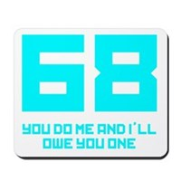 Let's 68! Mousepad