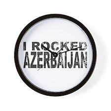 I Rocked Azerbaijan Wall Clock