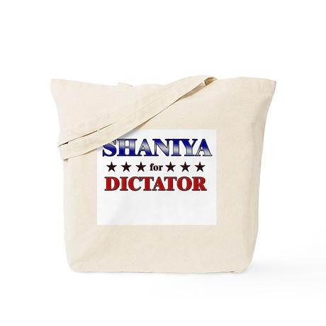 SHANIYA for dictator Tote Bag
