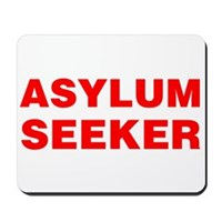 Asylum Seeker Mousepad