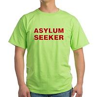 Asylum Seeker Green T-Shirt