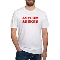 Asylum Seeker Fitted T-Shirt