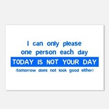 Not Your Day... Postcards (Package of 8)