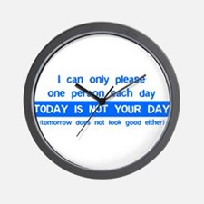 Not Your Day... Wall Clock