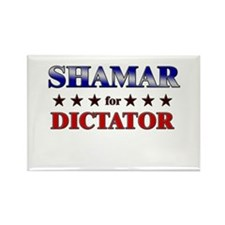 SHAMAR for dictator Rectangle Magnet
