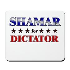SHAMAR for dictator Mousepad