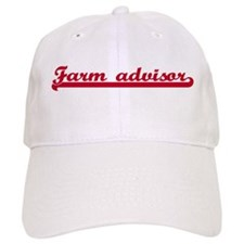 Farm advisor (sporty red) Baseball Cap