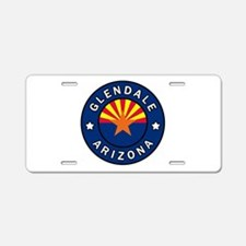 Glendale Arizona Aluminum License Plate