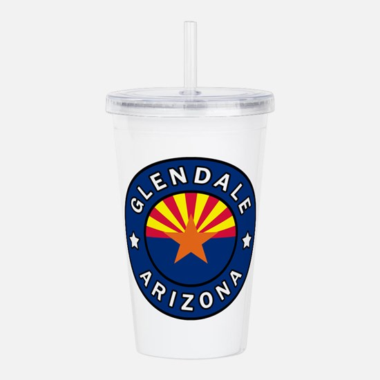 Glendale Arizona Acrylic Double-wall Tumbler