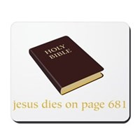 The Ending To The Bible Mousepad