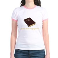The Ending To The Bible Jr. Ringer T-Shirt
