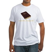 The Ending To The Bible Fitted T-Shirt