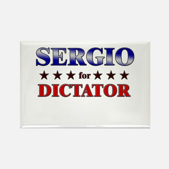 SERGIO for dictator Rectangle Magnet