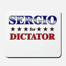SERGIO for dictator Mousepad