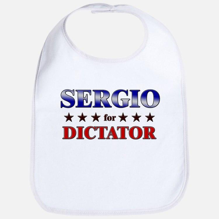 SERGIO for dictator Bib