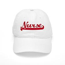 Nurse (sporty red) Baseball Cap