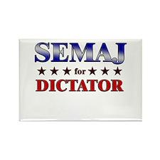SEMAJ for dictator Rectangle Magnet