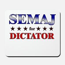 SEMAJ for dictator Mousepad